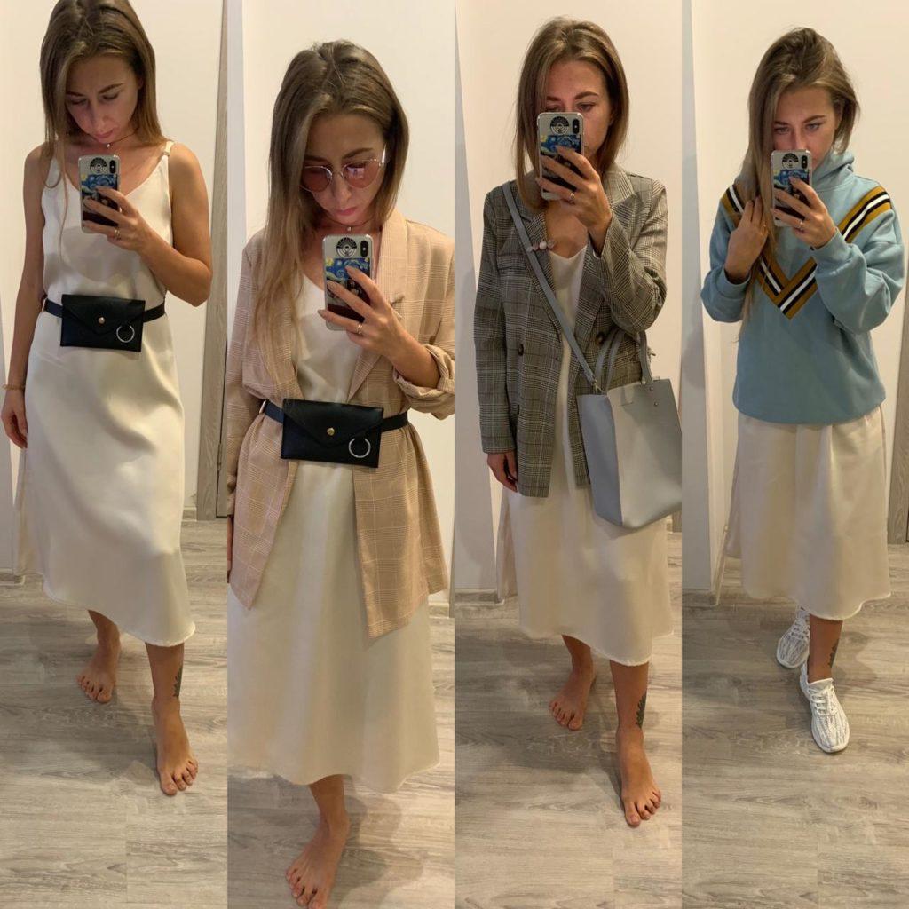 Базовое платье за 1184 рубля.
