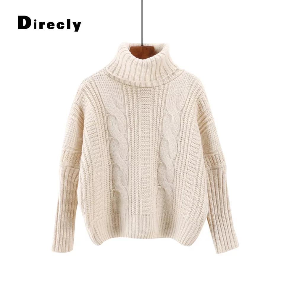 Уютный зимний свитер