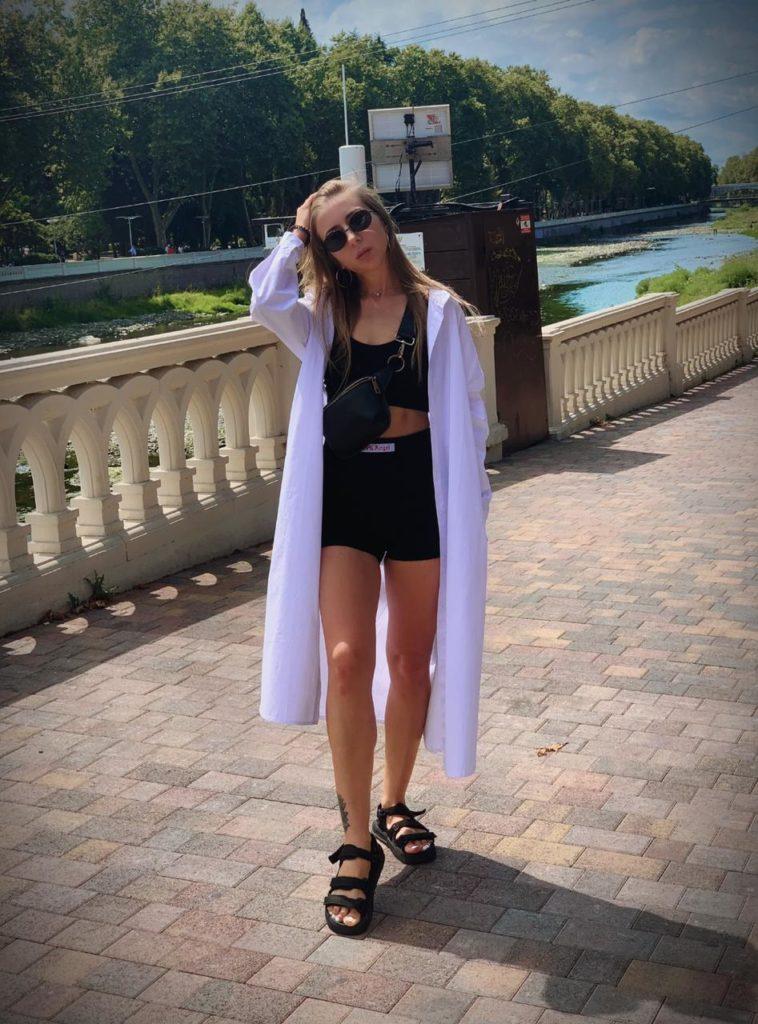 Рубашка-платье с Алиэкспресс